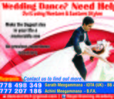 Wedding First Dance Lessons/Group Dance Trainings in few days
