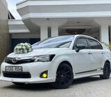 Toyota Stylish Axio's Cars for your Weddings