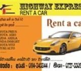 highway  express rent  a    car