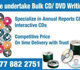 Bulk CD/DVD Duplicating