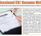 CV / Resume Writing