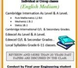 Mathematics (Cambridge, Edexcel & Local)