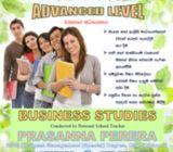 G.C.E A/L Business Studies