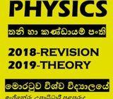 Physics Thoery and Revision