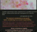 Japanese Language Classes  at Veyangoda
