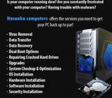 Computers repair and service home visit