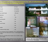 Four houses for sale@Andiambalama