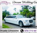 Chrylser Limousine for Wedding Hire