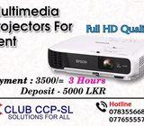 Projectors for Rent in Sri Lanka