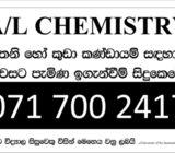 A/l Chemistry paper Classes 2020 (sinhala/English medium)