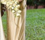 Wedding saree/homecoming