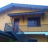 Upstairs house for rent Piliyandala
