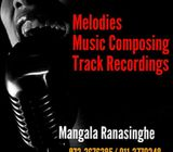 music composing and track recordings