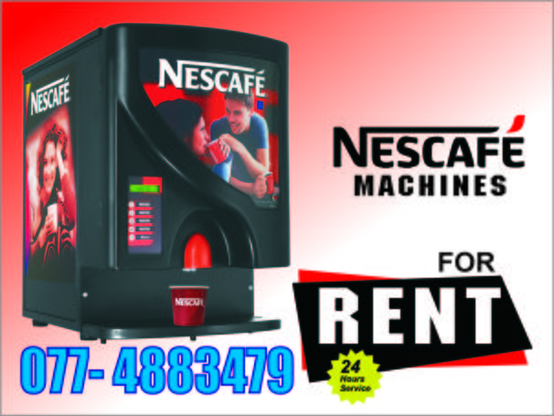 Nescafe Machin Rent - Services - Sri Lanka | Lankabuysell.com