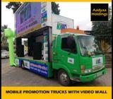 Promotion Trucks Video wall