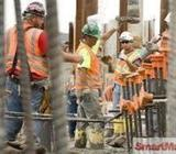 Construction, Engineers and unskillful jobs
