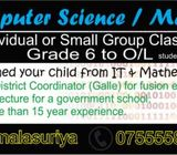 Computer Science (ICT) / Mathematics classes