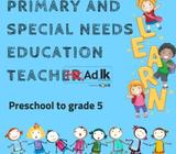 primary and special needs educationteacher