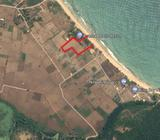 Wide beach front land in Nilaveli