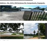 Land(43 perches) for a lucrative business in Nugegoda