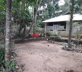 land with house for sale in kegalle town
