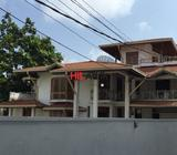 mount lavinia galle road - 02 story house for rent