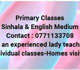 Primary classes