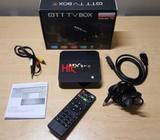 mxq pro 4k tv / internet iptv box, brand new. never used