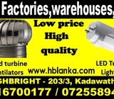 Ventilation fans,Wind turbine ventilators, LED tube light srilanka,roof ventilators, ventilation fan