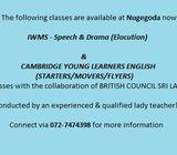 IWMS & Elocution Classes