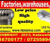 roof ventilators,Ventilation fans,Wind turbine ventilators, LED tube light srilanka,roof ventilators