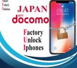 Japan DOCOMO Unlock