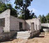 Half Complete House for Sale at Meegoda