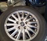 Tyre with Alloy Wheel Set 15