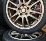 Alloy wheels with tires 17 inch
