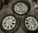 Tyre with Alloy Wheels 175X65X14