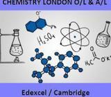 Chemistry London O/L and A/L (Edexcel / Cambridge