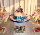 Sweet table arrangement