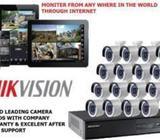 Cctv Camera 2 Mp-16 Cameras