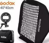 GODOX 40 CM GRID FLASH SOFTBOX + S HOLDER