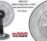Bright 16' Table Fan