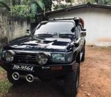 Toyota Hilux 106 double cab 1989