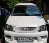 Toyota KR42 pearl white 2000