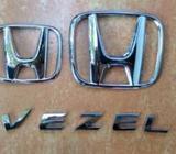 Honda Vezel Silver Badges (original