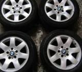 "BMW E46 Alloys With 16"" Dunlop Tyres"