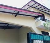 A modern upstair house