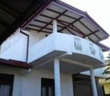 Upstairs House for Rent in Wellampitiya