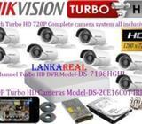 HikVision 720P HD 8 Cameras CCTV System