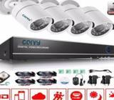 CARVY 4CHANNEL AHD CCTV CAMERA KIT