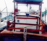 Boat in Hikkaduwa